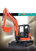 【久保田中型挖掘机】KX163-5样本下载
