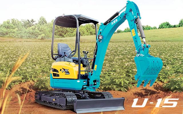 小挖U15-3S--全能小金钢