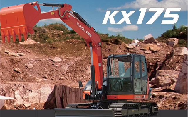中型挖掘机KX175-5